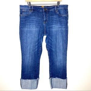 Kut From The Kloth Cameron Ankle Jeans Size 16